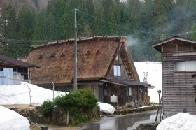 Shirakawago-Shimizu in Shirakawa-go Japan (Courtesy of TD, Madison, USA)