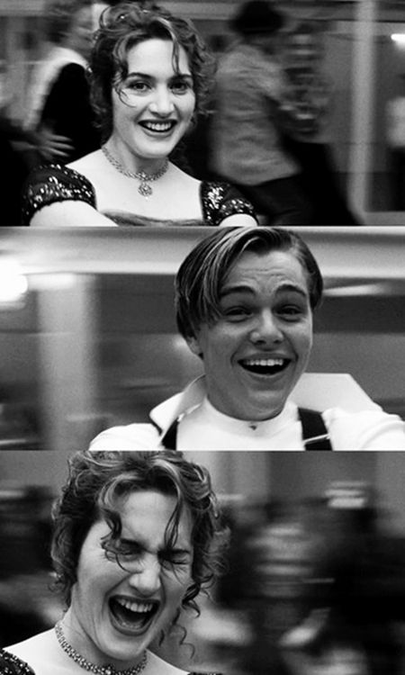 Titanic, Jack, I mean Leo, after this movie, I didn't understand why there weren't guys at my school in reality that looked like you and so sweet!! Celeb crush#