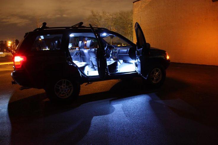 jeep grand cherokee wj led interior ligths