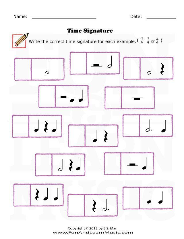 Time Signature - SproutBeat