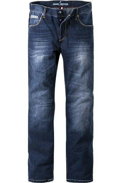 Daniel Hechter Trocadero Jeans. Classic button up stone wash jean