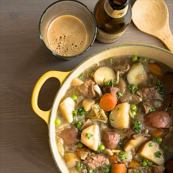O'Brien Irish Stew -- This authentic recipe is healthy and incredibly easy….choose beef or lamb, slow cooker or oven method.