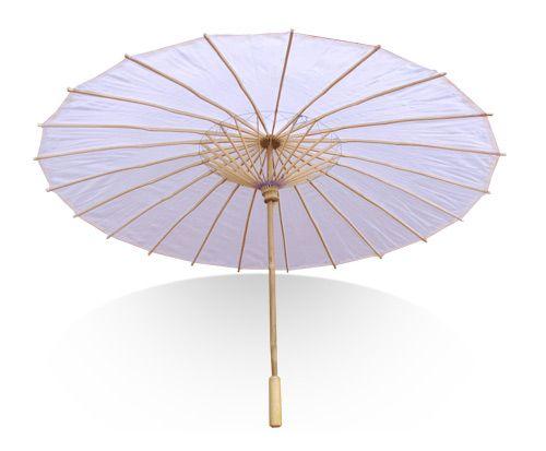 Bridal party parasols