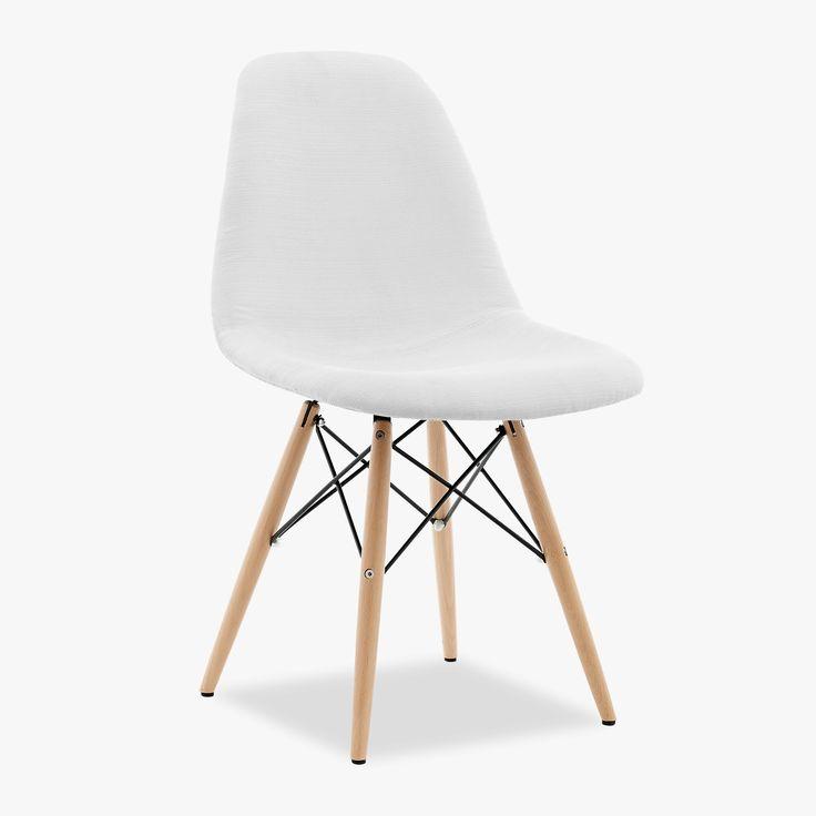 Chaise Eames DSW en plastique