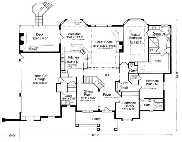 17 best house designs images on pinterest dream house plans West Road House Plans house plans, home plans and floor plans from ultimate plans west road house plans