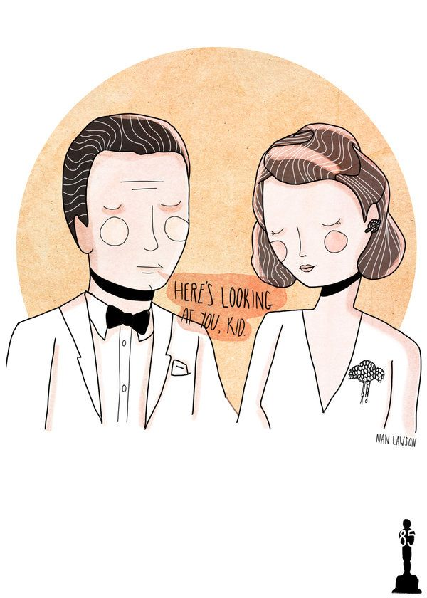 CASABLANCA (1942)Nan Lawson (Los Angeles) Oscars 2015