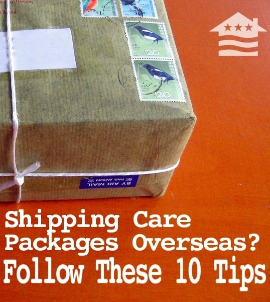 Care package shipping tips, bookmark this for all your care packages, great tips!