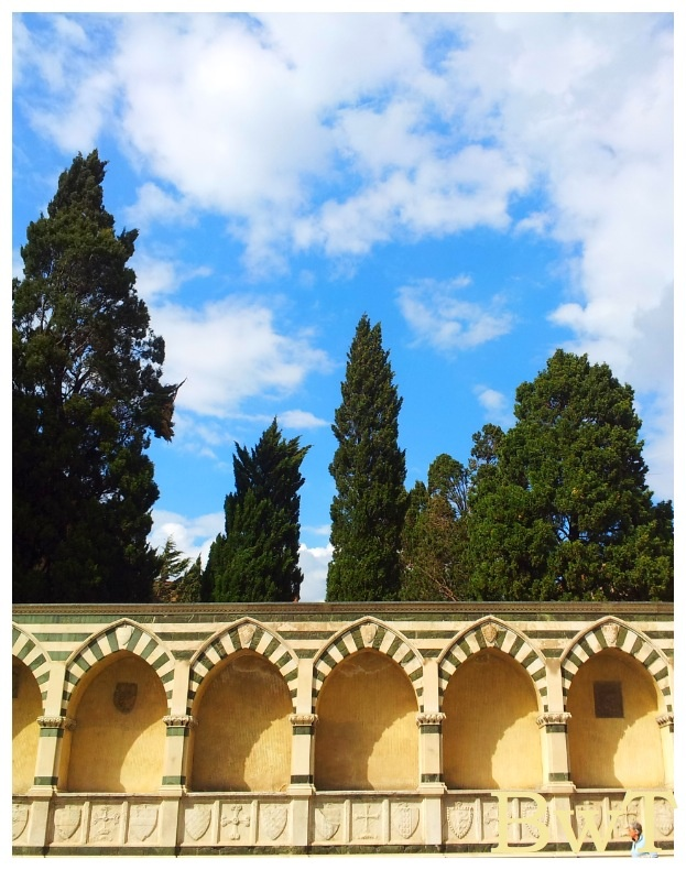 Basilica of the Holy Cross, the cloisters, Florence
