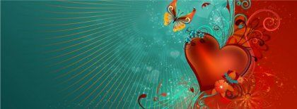 Love Heart Vector Art Hd Fb Timeline Cover 851x315 Facebook Covers
