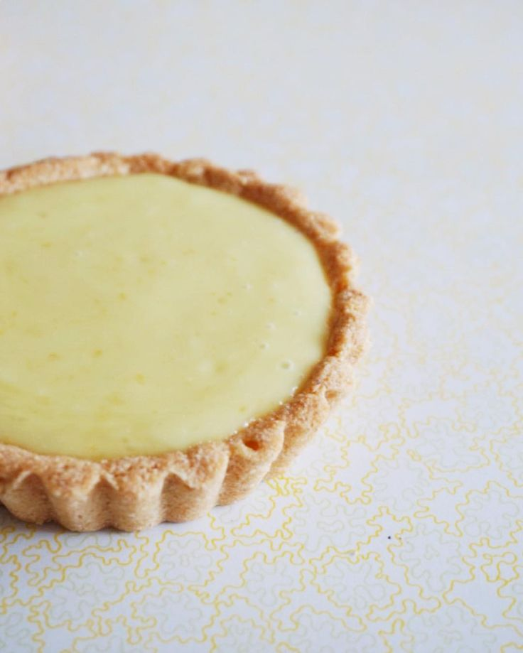 """75 Likes, 4 Comments - Melissa Thoen (@stuffmelbakes) on Instagram: """"Vegan, gluten-free lemon tart."""""""
