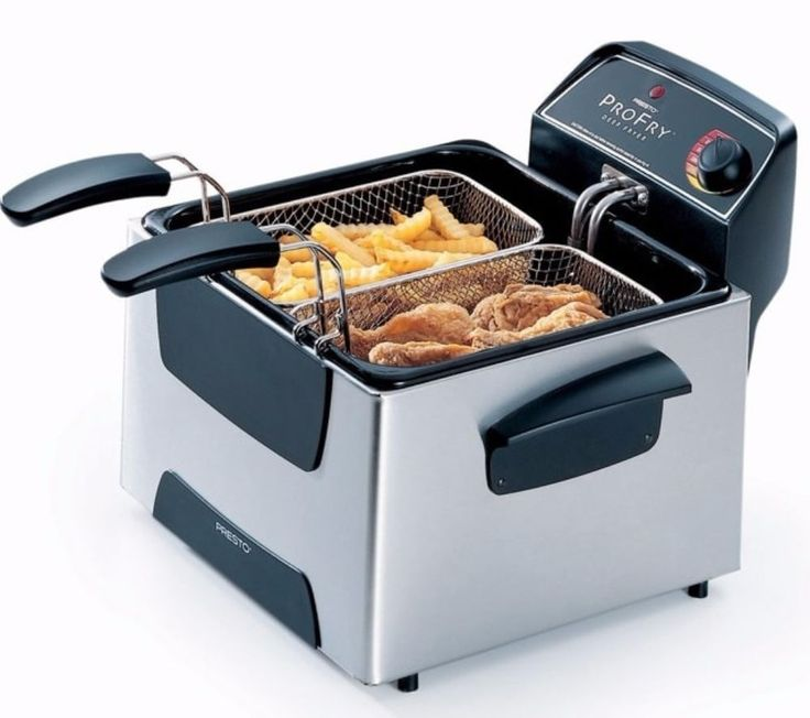 Presto Dual Basket Element Immersion Deep Fryer Home Kitchen Dining Appliances   #kitchen #dining #deepfyer #dualbasket #appliances
