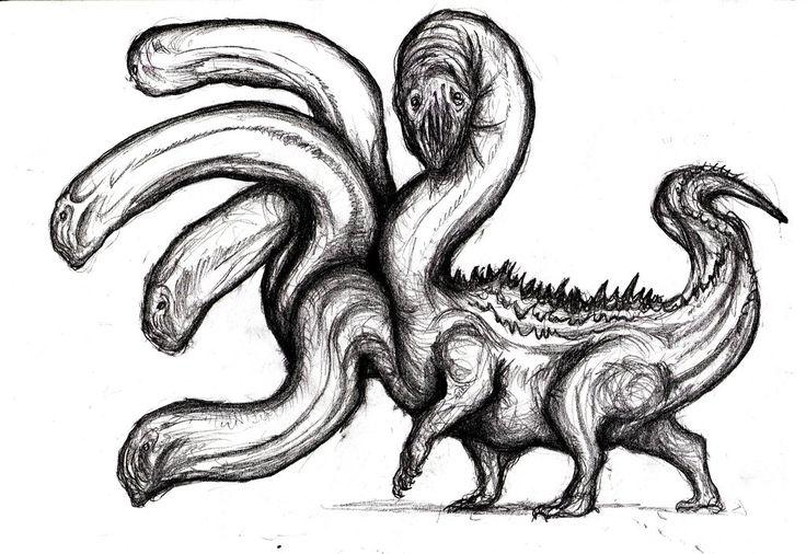 Dream Hydra by KingOvRats.deviantart.com on @DeviantArt