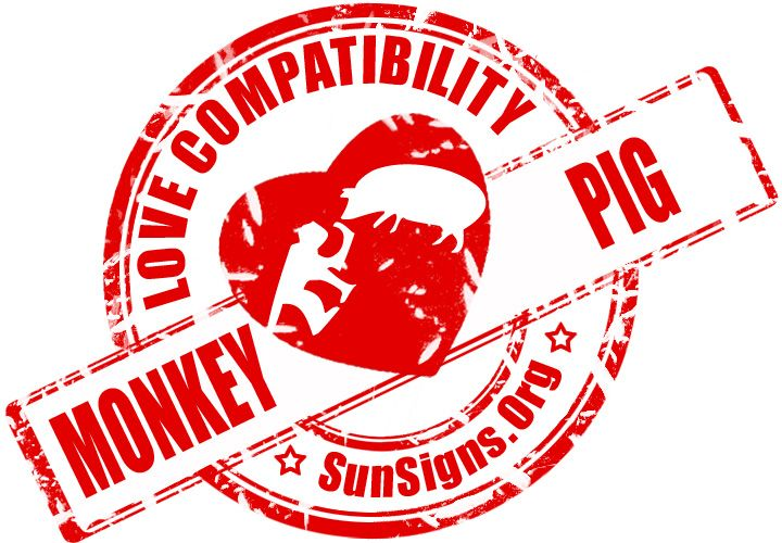 Monkey And Pig Chinese Zodiac Compatibility | Sun Signs