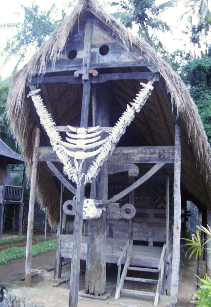 https://flic.kr/p/fApTKL | Traditional house @ Taman Nusa Bali