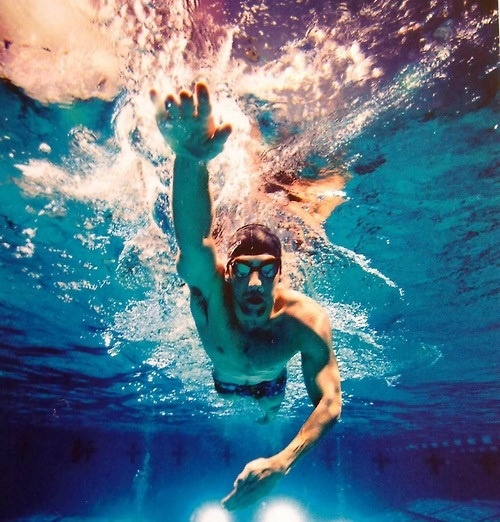 Michael Phelps, the most decorated Olympian in history with 22 medals (18 Gold, 2 Silver, 2 Bronze)