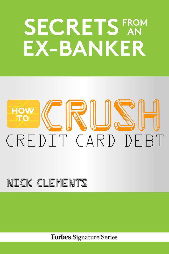 32 best forbes ebooks images on pinterest amazon personal finance secrets from an ex banker how to crush credit card debt forbes fandeluxe Images