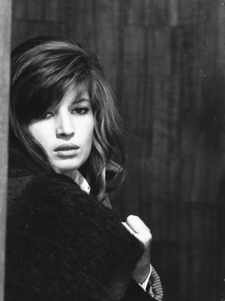 Monica Vitti on the set of Michelangelo Antonioni's Red Desert, 1964