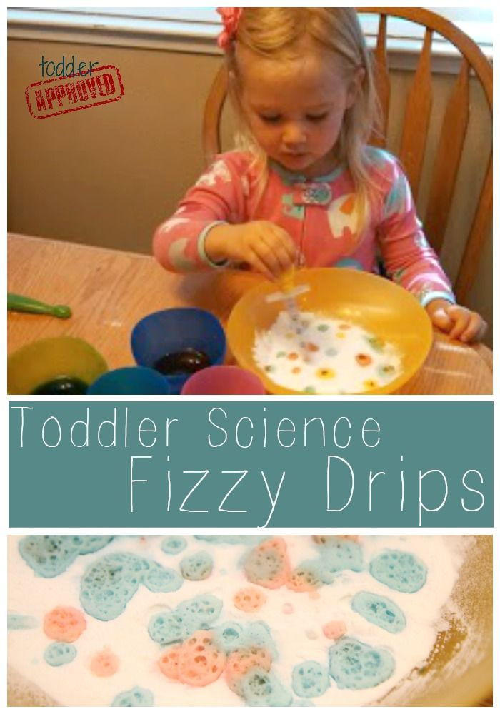 Toddler Approved!: Toddler Science: Fizzy Drips
