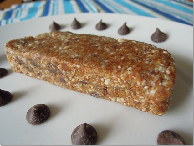 Chocolate chip larabars...homemade style. So excited to try these!