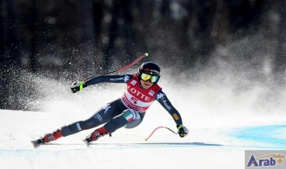 Goggia wins Olympic ski test event in…