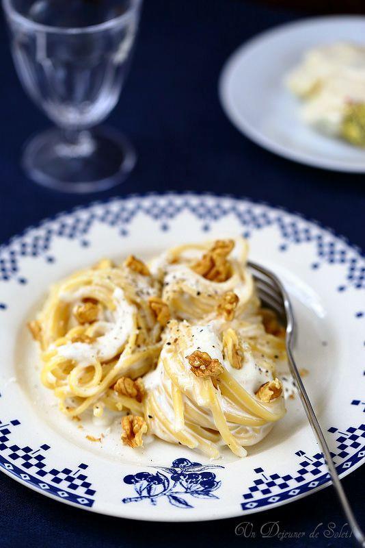 Pâtes aux trois fromages comme en Italie