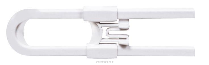 Lubby Защитный замок для шкафчиков с ручками13570Замок для шкафчиков LUBBY подходит для любых шкафов с ручками. Простая в использовании система не позволяет ребенку открыть створки шкафчиков и прищемить пальцы. Крепится на створки дверей шкафов с ручками. Максимально возможное расстояние между ручками створок шкафчиков 16 см.