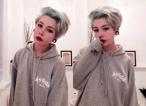 Short hairstyles for teens