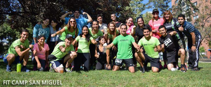 Herbalife Team Fit Club Santiago Chile #herbalife #team #fitclub #fitcamp #herbalife24fit