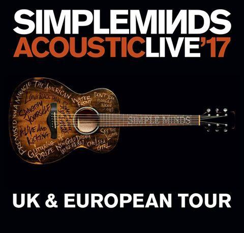 Simple Minds Tickets gehen am Donnerstag in den Vorverkauf!