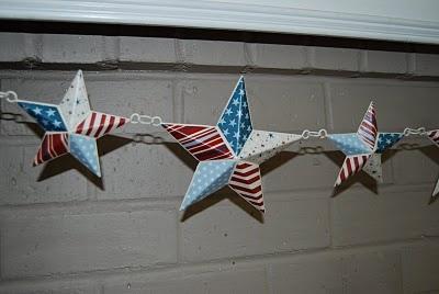 decorated stars..