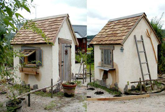 a fairy tale hut