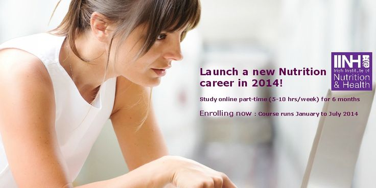 Launch a new Nutrition Career in 2014 - enrolling now for Jan 2014 course online:  http://www.iinh.net/launch-new-nutrition-career-2014/