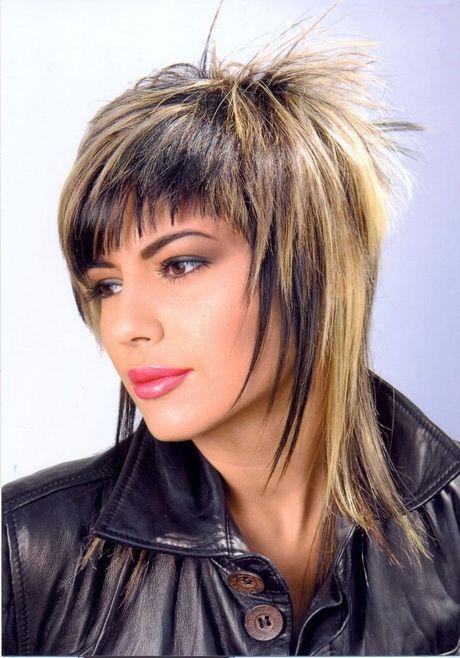 Coupe de cheveux déstructurée