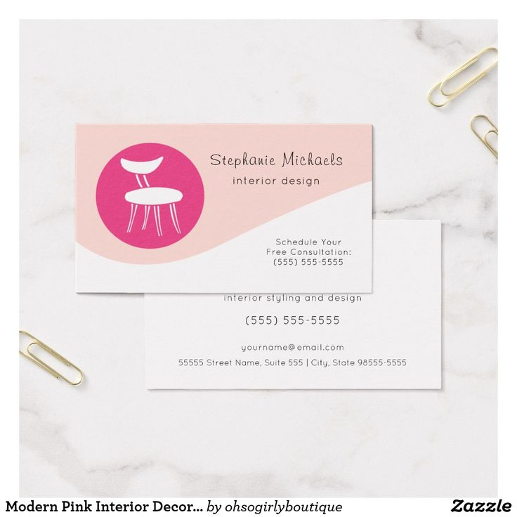 610 best Girly Business Cards images on Pinterest