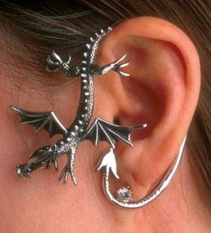 Dragon Sentry Ear Wrap