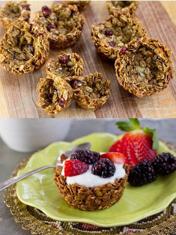 Breakfast Granola Cups | 29 Breakfasts That Will Inspire You To Eat Better This Year
