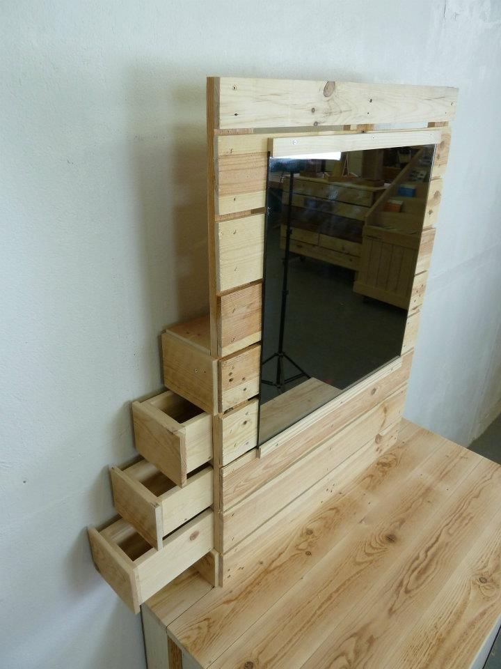 pallet dresser with side drawers pallet 39 s rock pinterest pallet dresser rustic farmhouse. Black Bedroom Furniture Sets. Home Design Ideas