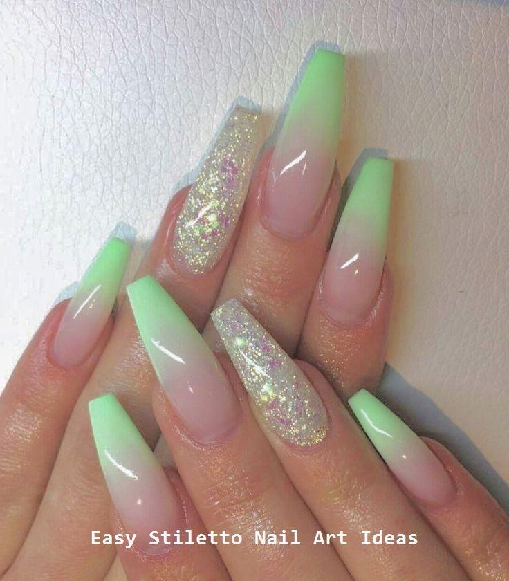 30 Ideen für großartige Stiletto-Nageldesigns #nail #stilettonails – Stiletto Nail art