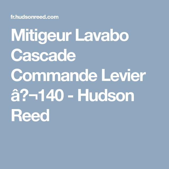 Mitigeur Lavabo Cascade Commande Levier €140 - Hudson Reed