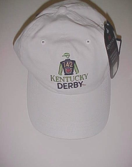 Kentucky Derby 142 Churchill Downs 2016 Adult Unisex White Cap One Size New #Ahead #BaseballCap