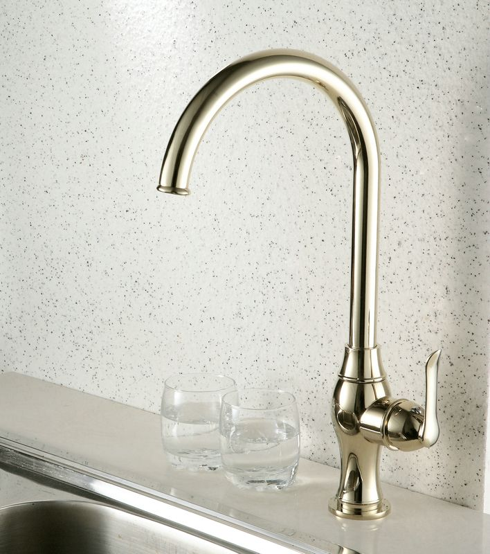 Ti-PVD Finish Antique Style Kitchen Tap TP0795G