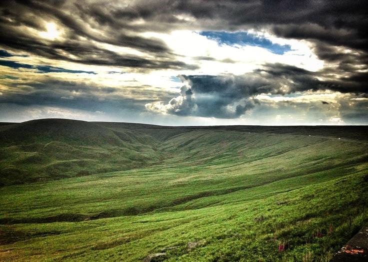 Marsden Moor  National Trust  Fantastic Yorkshire Sky#yorkshire #marsdenmoor