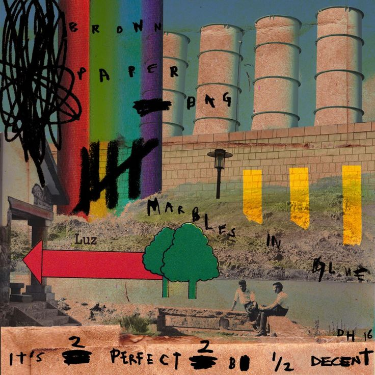 Indistinct Chatter 2 (2016) - digital collage - David Hurley #digital #digitalart #digitalcollage