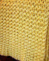 Quick and Simple Afghan Free Crochet Pattern**great site! This is made w/ large hook and looks like it would go fast! :-)**