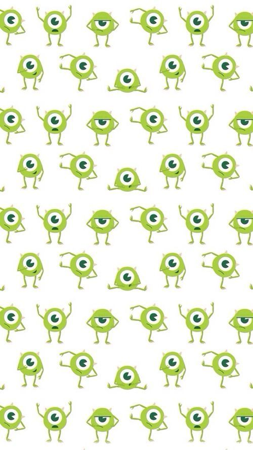Mike wallpaper monsters inc. wallpaper / iphone wow thank all! this pin has been re-pined 100 times! that is so much!: