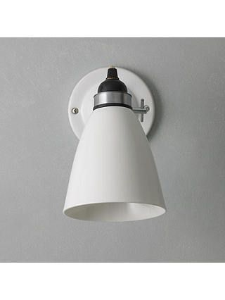Original Btc Hector Dome Switched Wall Light Medium Natural White Online At Johnlewis