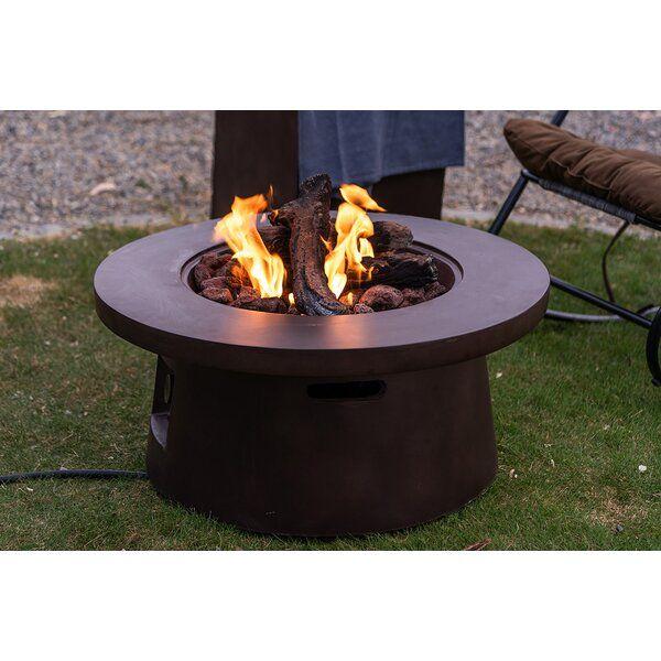 Clovia Backyard Concrete Propanefire Pit Propane Fire Pit Propane Fire Pit Table Fire Pit Table