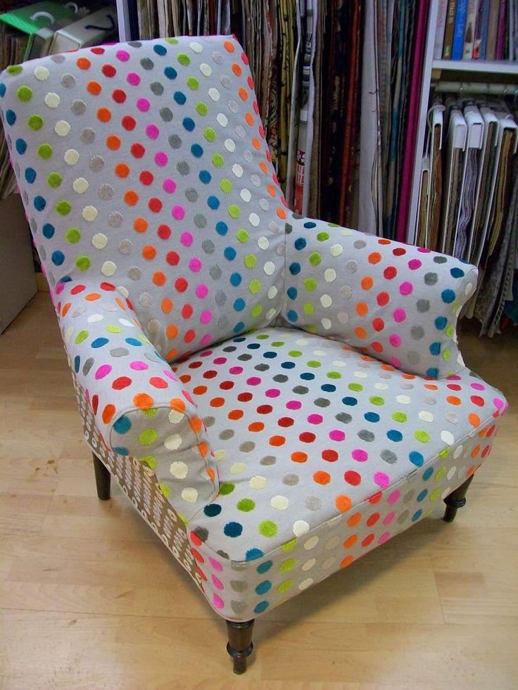 L 39 housse de fauteuil anglais id es pour la for Housse fauteuil crapaud ancien