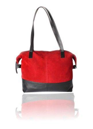 Red Bag | Red Shoulder Bag : Sizeable Shoulder Bag Online Red Bag