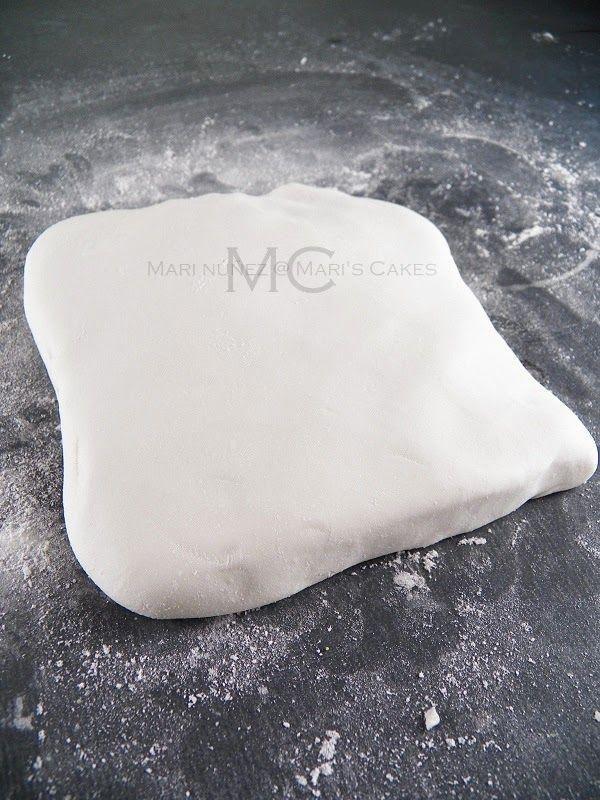 Recetas De Fondant (Pasta De Azúcar), Fondant De Marshmallows O Malvaviscos Y De Chocolate | Mari's Cakes